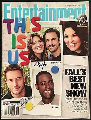 This Is Us Autograph Signed Entertainment Weekly Milo Ventimiglia   Justin