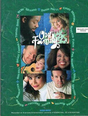 OUR FAMILY SONGBOOK Word Gospel PB Sandi Patti Kathy Troccoli Bebe Winans 1994