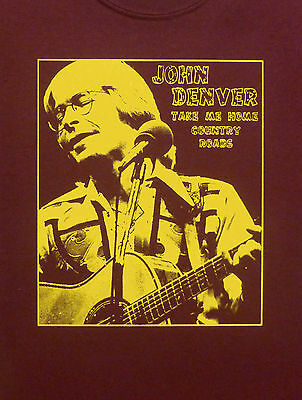 John Denver T Shirt New S  M  L  Xl Greatest Hits
