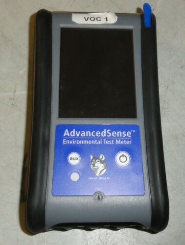 Gray Wolf Advanced Sense Environmental Test Meter with Accessories SKU 3