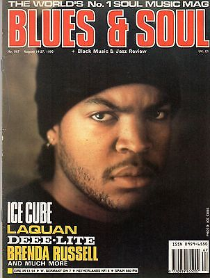 Lited Ice Cube (Ice Cube on Blues & Soul Cover 1990     Brenda Russell     Deee-Lite   )