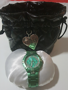 Ladies Green Guess Watch Kangaroo Point Brisbane South East Preview