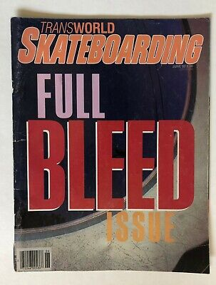 June 1985 Transworld Skateboarding Magazine Full Bleed Issue Kasai Gator McGill