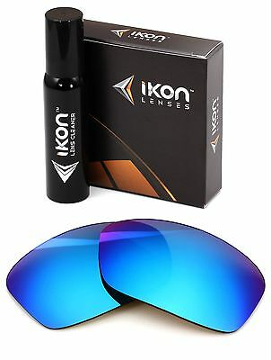 Polarized IKON Replacement Lenses For Dragon Vantage Ice Blue Mirror Vantage Replacement Lens