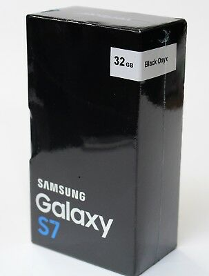 Samsung Galaxy S7 SM-G930 32GB 4G LTE Black Onyx (Verizon) Smartphone New Other