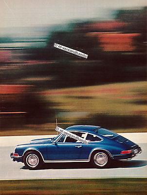 Porsche-911S-1970-Reklame-Werbung-genuine Advertising - nl-Versandhandel