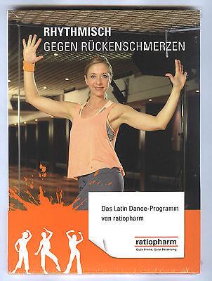DVD Rhythmisch gegen Rückenschmerzen Latin Dance Programm und Übungsheft NEU ovp