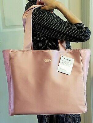 COACH Pink Tote Bag Shopper Handbag Carryall Purse Travel Work Play BNWT