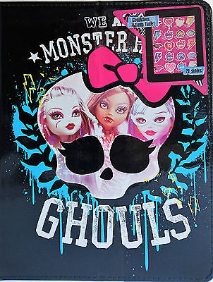 Monster High Ghoulicious Make Up Tablet Cover Beauty Set Eye Shadow Lipgloss New