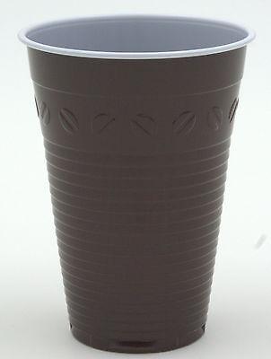 3000 Thermobecher, Kaffeebecher, Plastikbecher, braun, 0,18l / 180ml Huhtamaki