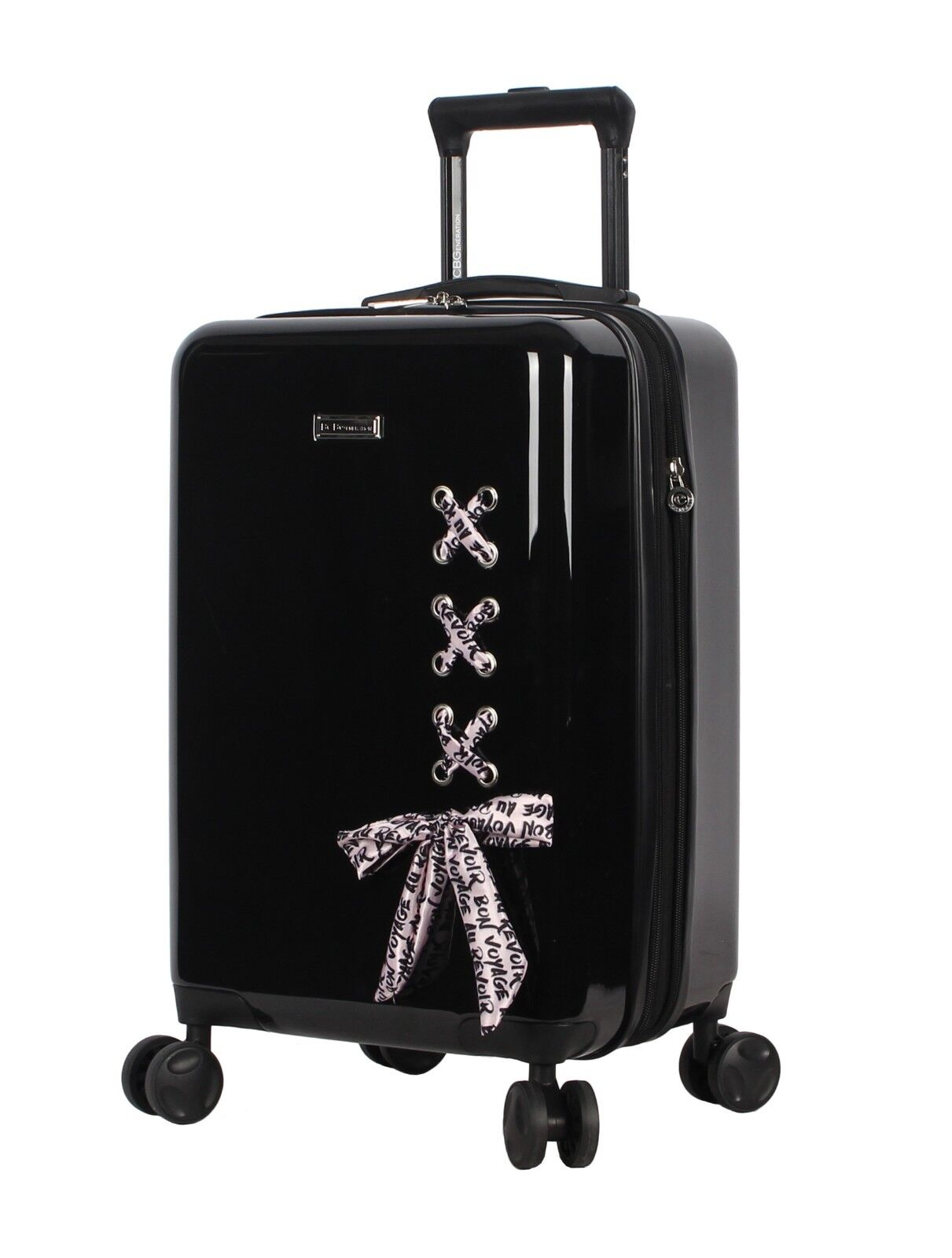 "BCBGeneration BCBG Luggage Hardside Carry On 20"" Suitcase wi"