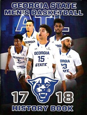 2017 18 Georgia State Panthers Mens Basketball Media Guide