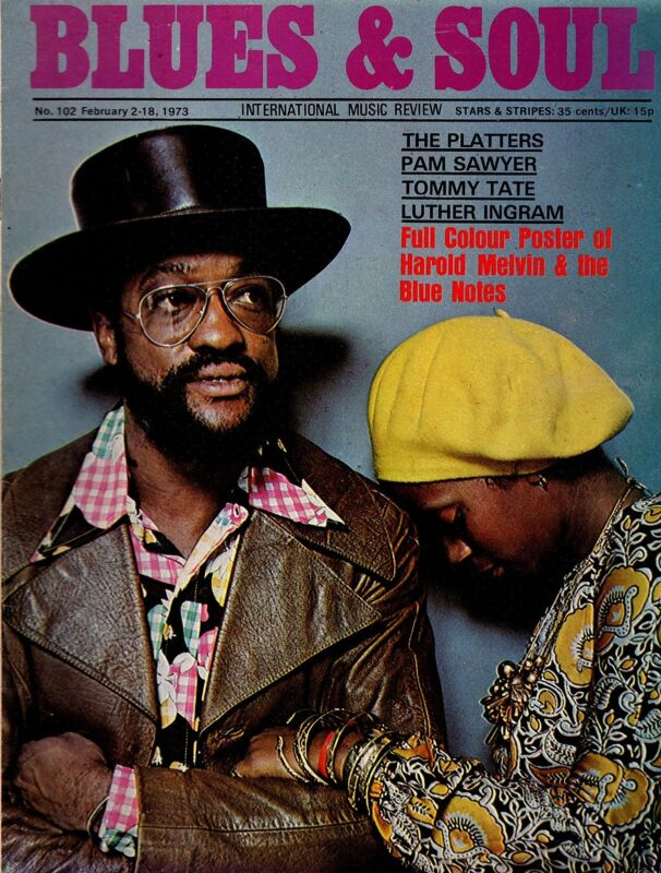 Billy Paul Blues & Soul Issue 102 1973  Harold Melvin & The Blue Notes  Mandrill