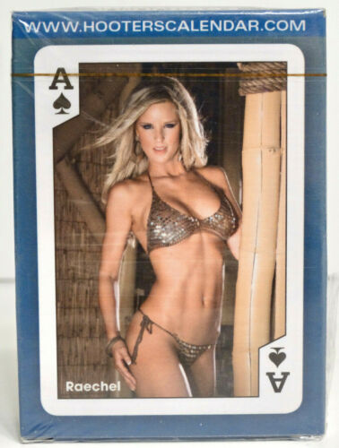 Hooters Calendar Playing Cards 2010 1st Edition Series 7 with 2 Very Wild Cards