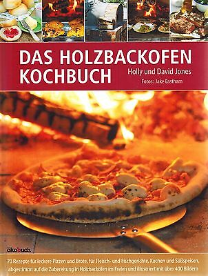 The Wood-fired Cookbook For Garden - Pizza Or Bread - 70 Recipes - New