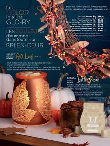 Scentsy's October's warmer and bar of the month!