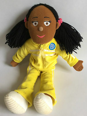 "JOSIE JUMP - CBEEBIES BALAMORY - TALKING SOFT TOY – 14"" TALL"