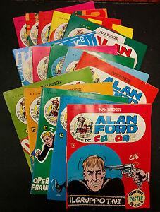 Alan-Ford-Colore-completa-15-numeri-poster-Magnus-Bunker-Editoriale-Corno