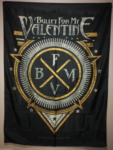 "Bullet for my Valentine BFMV Emblem Cloth Fabric Textile Poster Flag 30"" x 40"""