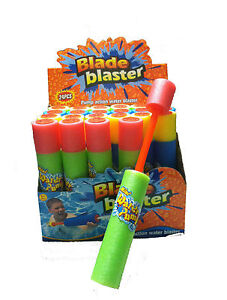 Mini-Noodle-Foam-Super-Water-Gun-Hand-Pump-Blade-Blaster-Toy-Kids-Beach-Fun