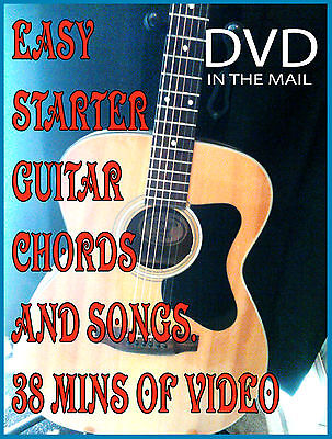 Learn Beginner GUITAR Lesson DVD for Guitar Easy Lessons Chords & Play Songs