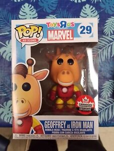 Funko POP Geoffrey As Iron Man Fan Expo Canada Toys R Us