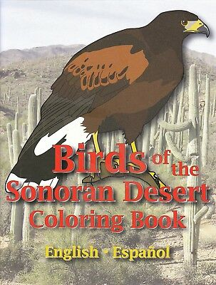 BIRDS OF THE SONORAN DESERT Coloring Book - in English & Spanish!