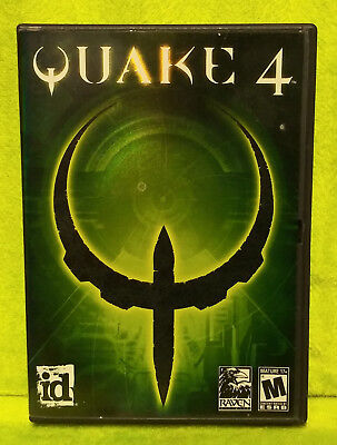 Quake 4 (PC, 2005) - Complete CIB - CD Rom for sale  Shipping to Canada