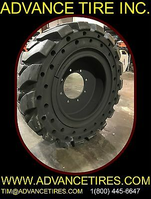 Solid Backhoe Tire And Rim 36x12-20 Ta 14-17.5 Solid Tires 12.580-18 Tires