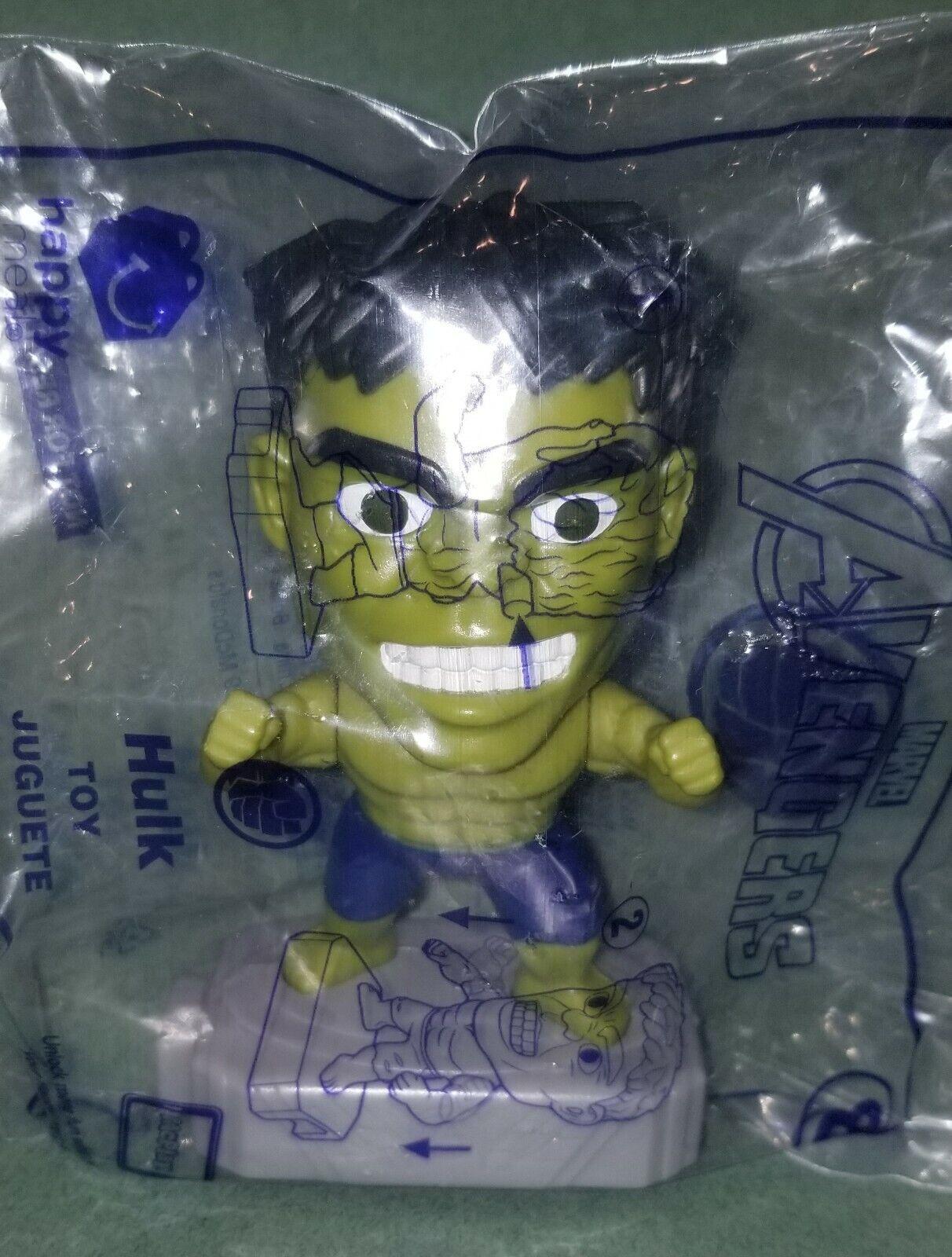 Avengers (2019) McDonalds Happy Meal Toys- Fast Shipping! #8 Hulk