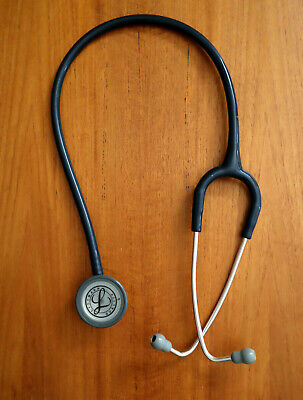 3m Littmann Lightweight Ii S. E. Stethoscope 2450 Black Tube