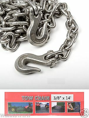 38 X 14ft Tow Chain Automotive Truck Towing Log Chain