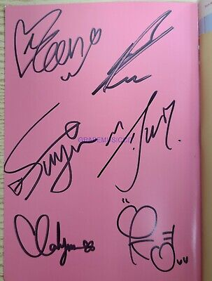 ROCKET PUNCH Ring Ring SINGLE K-POP REAL SIGNED AUTOGRAPHED PROMO CD#1