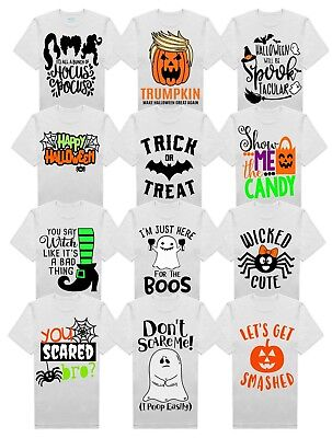 Adults Halloween Costumes Ideas (Adult Halloween T-shirts Mens Funny Cool Novelty Fancy Dress Joke Costume)