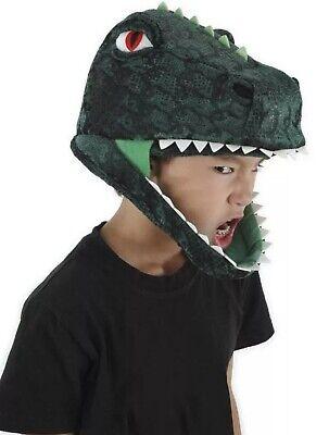 TYRANNOSAURUS T REX Jawsome Plush Dinosaur Costume Adults or Child Helmet Hat