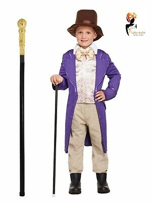 Boys CHOCOLATE FACTORY OWNER Book Day Book Week Child Fancy Dress Costume](Book Costumes)