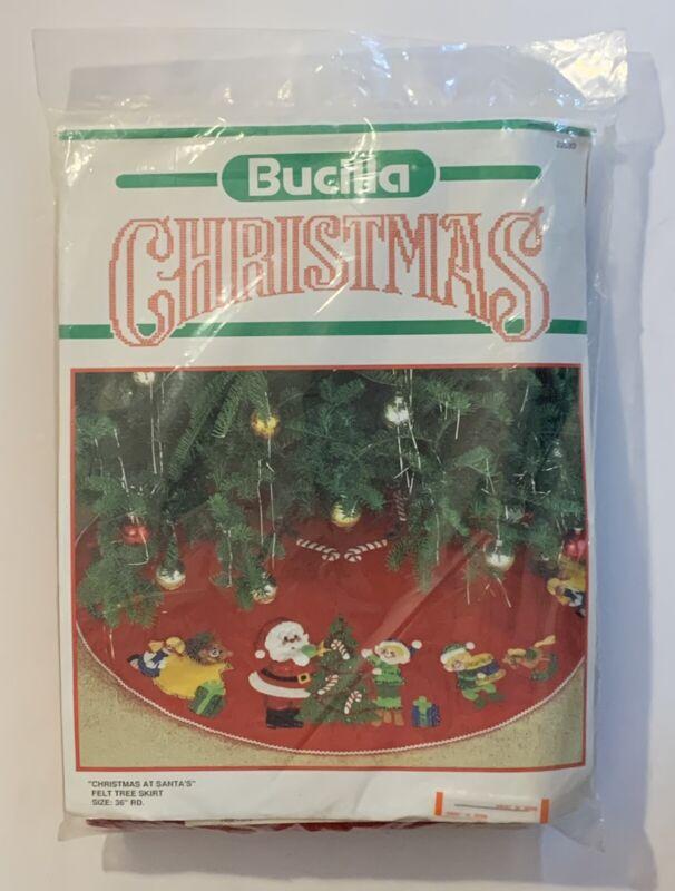 """Bucilla """"Christmas At Santa"""