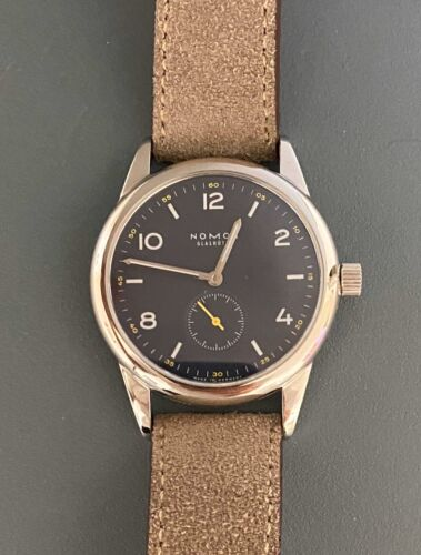 Nomos Glashutte Club Timeless Limited Edition II (#18 of 100) - watch picture 1