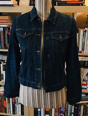 Abercrombie and Fitch blue jean jacket size Large