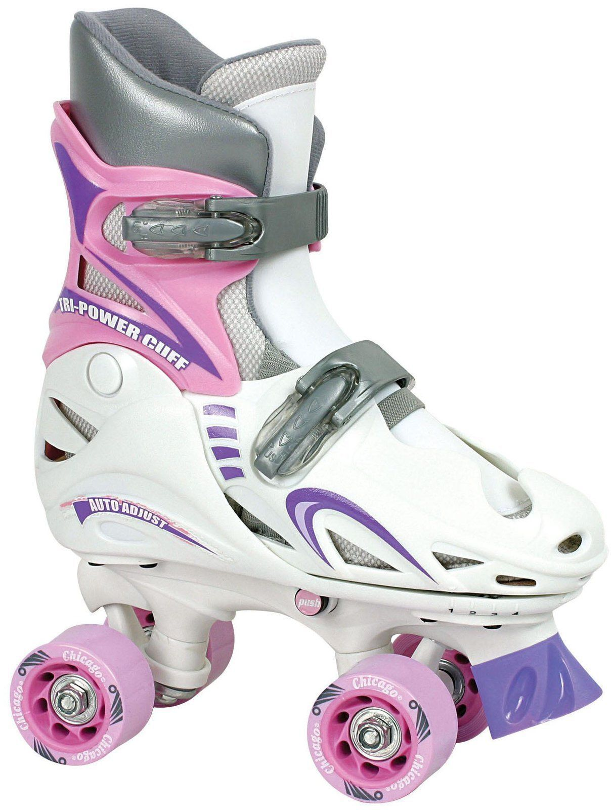 Quad roller skates amazon - Chicago Girls Adjustable Quad Skate