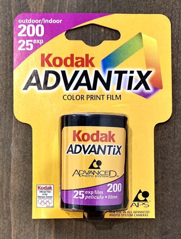 Kodak Advantix APS 200 - 25 Exposure Color Print Camera Film - New Old Stock