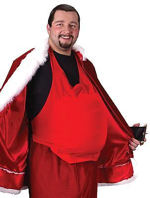 SANTA CLAUS BELLY BEER PADDING COSTUME ACCESSORY NEW AE23