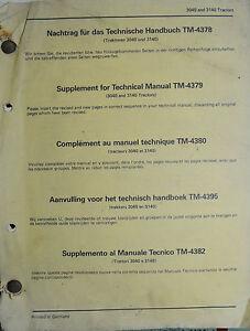 PUBBLICITA-039-JOHN-DEERE-034-TRATTORI-3040-e-3140-SUPPLEMENTO-AL-MANUALE-TECNICO