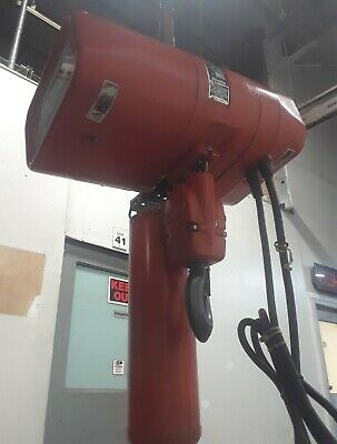 Cm Valustar 2 Ton Electric Chain Hoist Model Wr - 115160 - 8fpm W Remote 16