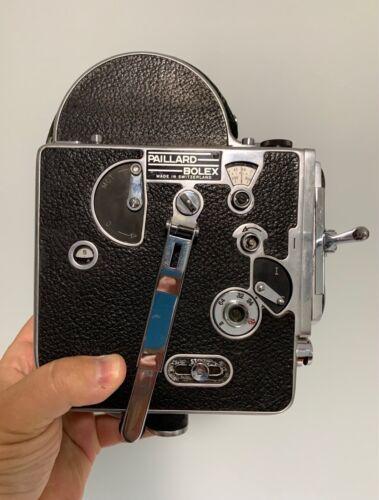 Vintage Working 1950 Bolex H16 16mm Movie Cine Camera Body Filmo