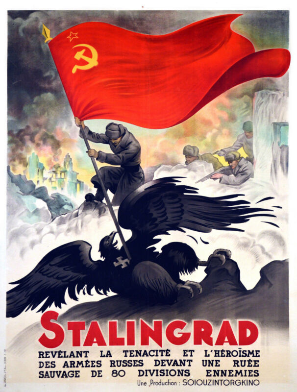 STALINGRAD - ORIGINAL FRENCH POSTER