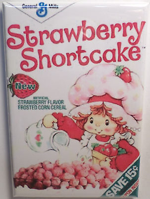 Strawberry Shortcake Vintage Cereal Box 2