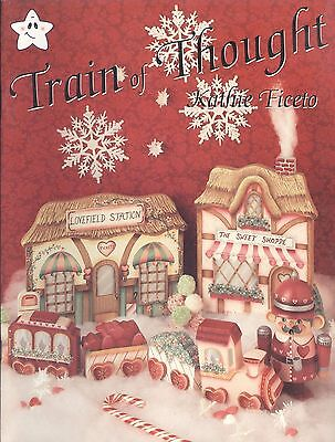 Train Of Thought Tole Painting Book Ficeto Xmas Halloween Valentine Angel Love - Tole Painting Books Halloween