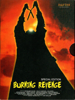 The Burning , 2 DVDs , strong limited Digi-Pack , uncut , new , brennende Rache (Halloween 2 1981 Uncut Dvd)
