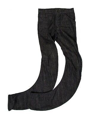 Kazuyuki Kumagai Black Denim Slim Fit Jeans, Size 29
